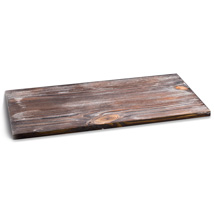 Distressed Wood Laminated Wood Shelf - 12 In. W X 48 In. L