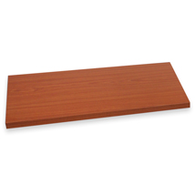 American Cherry Laminated Wood Shelf - 14 In. W X 48 In. L