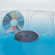 Nexpak Clear Double DVD Case