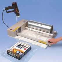 Complete Shrink Wrap Systems With Heat Gun