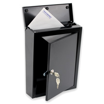 Wall Mounted Steel Drop Box - Large