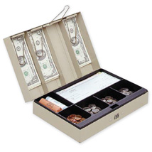 Cash Box with Combination Lock