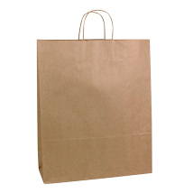 Kraft Paper Shopping Bag- 16 In. X 6 In. X 19 In.