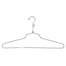 Chrome 16 In. Shirt Hanger