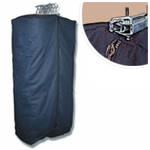 Heavy Duty Grip-Tight Canvas Garment Bag