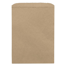 Kraft Paper Merchandise Bag - 6 In. X 9 In.