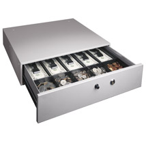 Pm 04964 Manual Cash Drawer With Alarm Bell And 10 Compartment Cash Tray