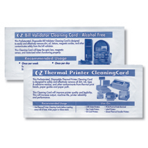 Currency Counter Cleaning Cards