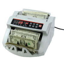 Deluxe Bill Counter With Counterfeit Detector
