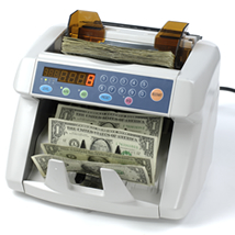 Bank Quality Uv & Mg Counterfeit Detector With Currency Counter