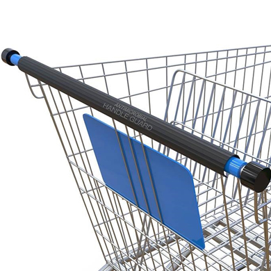 Antimicrobial Shopping Cart Handle Cover