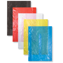 Blue High Density Plastic Bag without Handles- 8.5 x 11 - Box of 1000