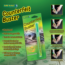 Sure N Fast Counterfeit Currency Buster Pen