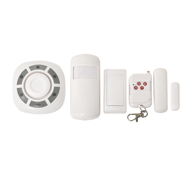 All-In-One Chime Alert System with Magnetic & Motion-Detection Sensors and Doorbell