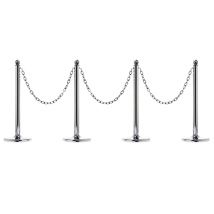 Silver Plated Stanchion Kit