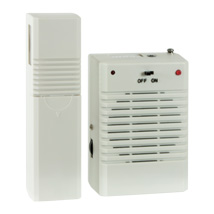 Deluxe Wireless Motion Activated Door Chime Alert