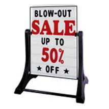 Xl Swinger Deluxe Message Board Sign