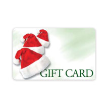 Ez Gift Card System With Santa Hat -100 Gift Cards