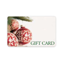 Ez Gift Card System With Ornaments - 100 Gift Cards
