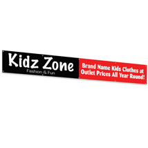 Custom Banner With Grommets - 120 In. W X 24 In. H