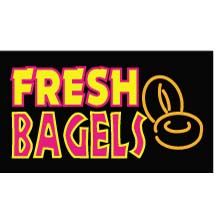 Fresh Bagels Neon Like Illuminated Sign