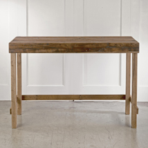 Tall Rustic Wood Console Table