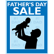Father's Day Sale Sign