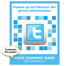 Follow Us On Twitter Sign