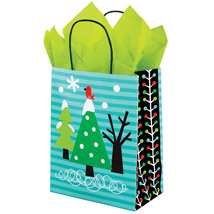 Chilly Chums Birdie HOLIDAY Gift Bags - 100 per carton