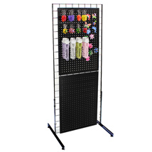 Metal Pegboard and Magnet Impulse Display