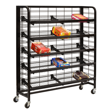 "48"" Mobile Rack W/5 Shelves"