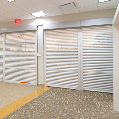 Vision Profile Security Shutter Doors
