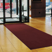 Red and Black Sabre Entrance Mat - Custom Length