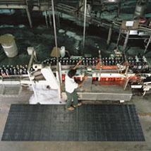 Slip Resistant FLOOR MAT  4 ft  x 8 ft