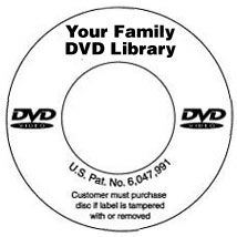 Custom Imprinted DVD Label
