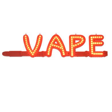 Led Marquee Lighted Letters Vape Sign