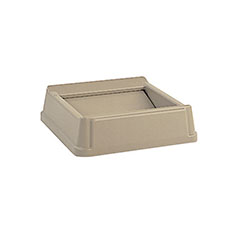Beige Square Top for 38 Gallon Waste Container