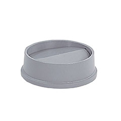 Grey Round Top For 22 Gallon Waste Container