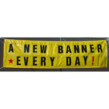 10 Ft. X 3 Ft. Changeable Message Banner