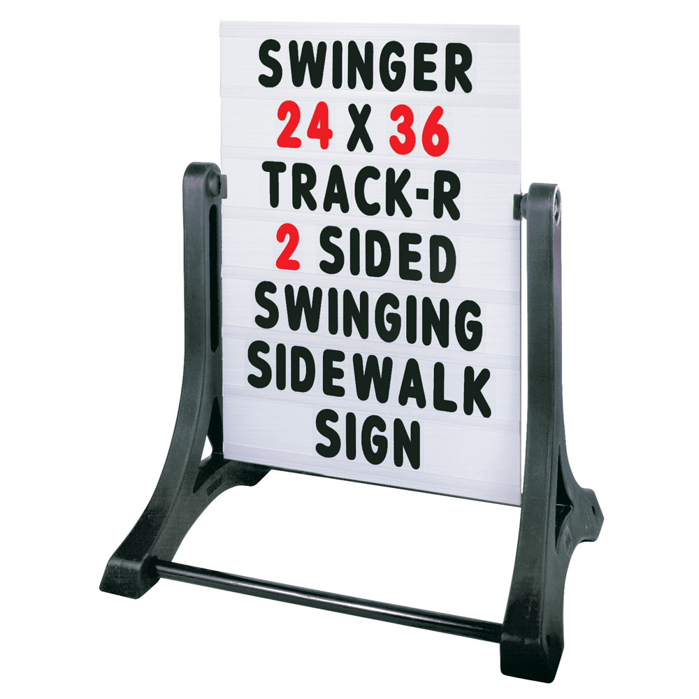 Standard Swinger Message Board Sign