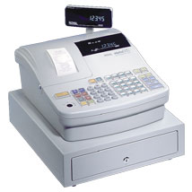 Deluxe Royal 583Cx Electronic Cash Register