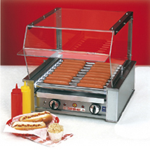 Sneeze Guard For Hot Dog Roller Grill