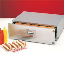 Bun Warmer For Hot Dog Roller Grill