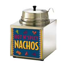 3.5 Quart Lighted Nacho Cheese Warmer with Ladle