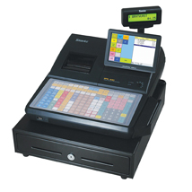 Hybrid Electronic Cash Register For Retail And Food Service