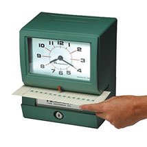 Employee Time Recorder - Automatic Time Clock System