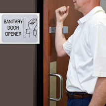 Sanitary Door Openers - Set of 2