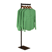 1-Way Apparel Rack With Straight Arm