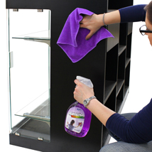 Showcase Cleaner with 3 Micro Fiber TOWELs