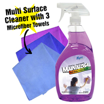 Multi Surface Cleaner With 3 Micro Fiber Towels